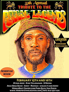 Music: Tribute to the Reggae Legends