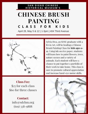 Chinese Brush Painting for Children