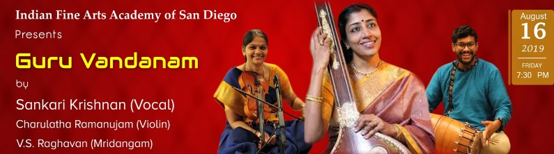 Indian Carnatic Vocal Concert