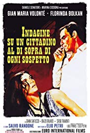 Italian Film: Investigation of a Citizen Above Suspicion