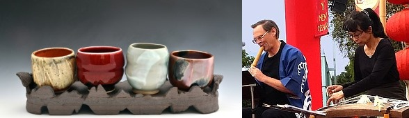 Japanese Pottery Sale & Concert