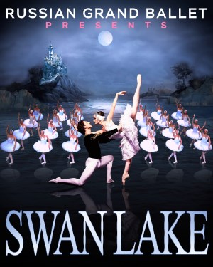 Stage: Swan Lake by the Russian Gand Ballet