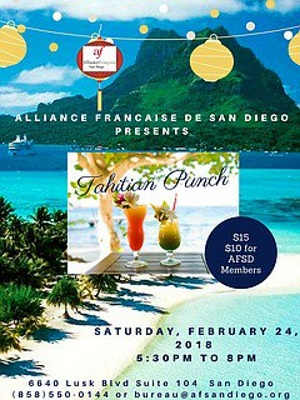 Tahitian Punch Tasting and Polynesian Dance