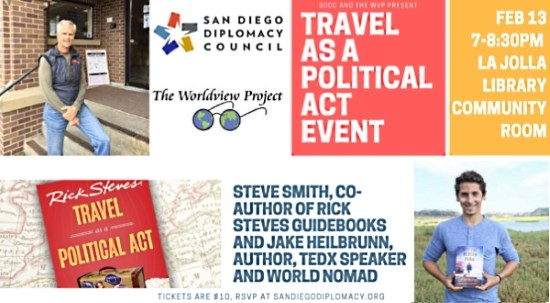 Book Event: Travel as a Political Act