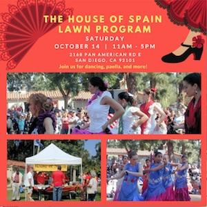 House of Spain Lawn Program