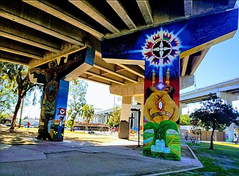 Unveiling New Mural At Chicano Park