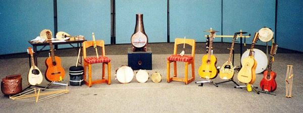 Instruments for the Music�ntica group