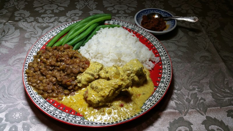 Sri Lankan Curry and Lime Pickle