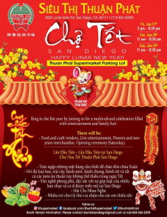 Cho Tet Celebration