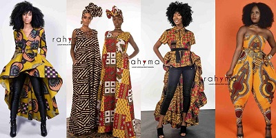 African clothing: RAHYMA POP-UP SHOP