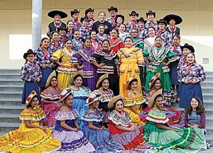 Ballet Folklorico Mother's Day at the Flower Fields