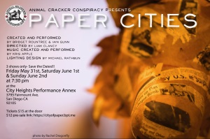 Performance: Paper Cities