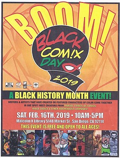 Black History Month Black Comix Day